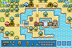 Super Mario Advance 4 - Super Mario Bros. 3 - Lve Card - User Screenshot
